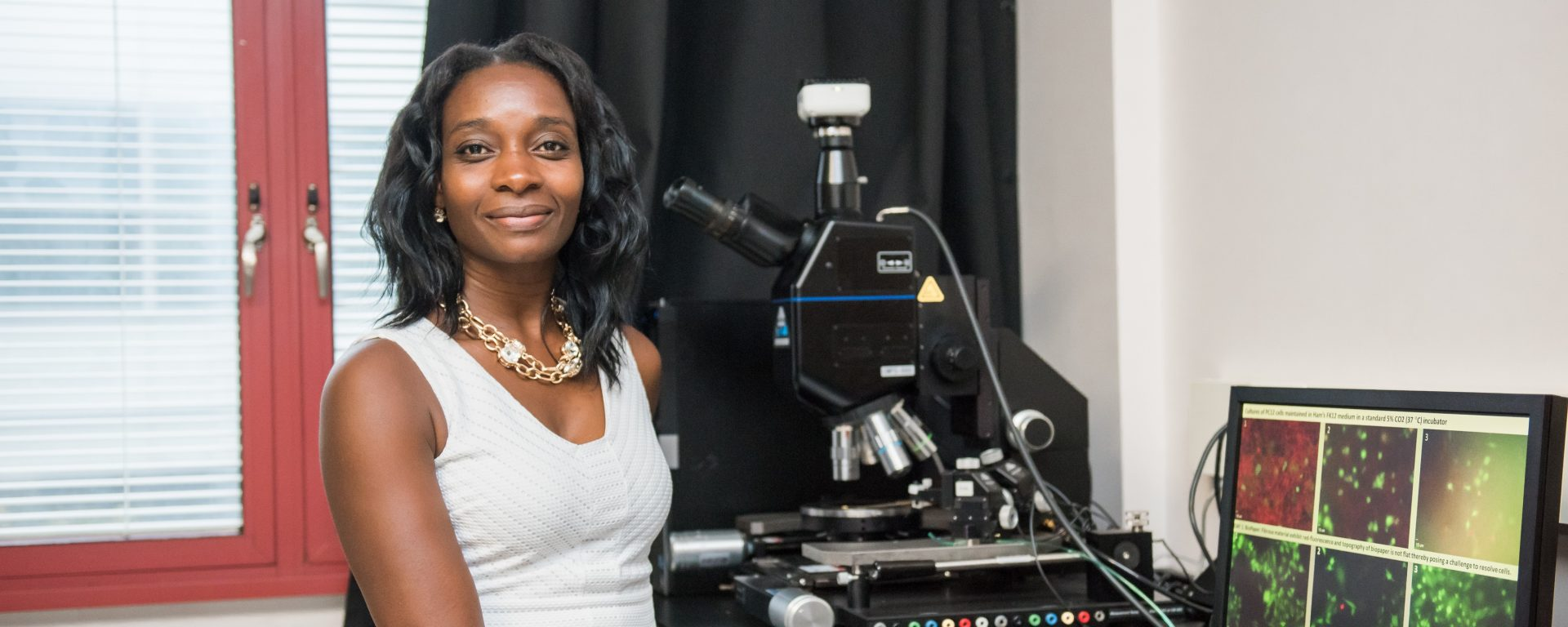 UMBC's Gymama Slaughter to develop bioreactors that could pause the clock for life-saving organ transplants